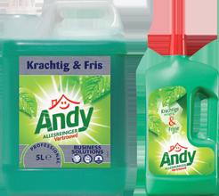 Facilitaire producten schoonmaak andy