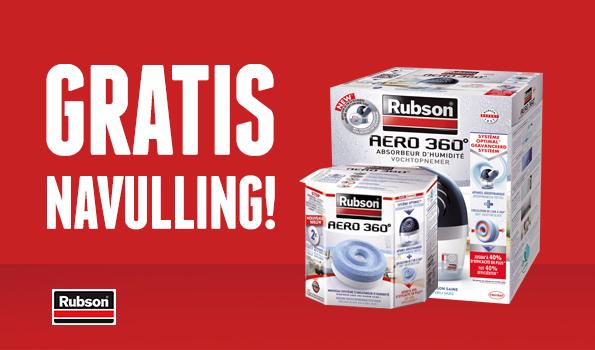 Gratis navulling bij rubson with rubson - Rubson re new ...