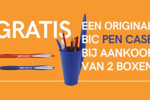 Gratis BIC pen case