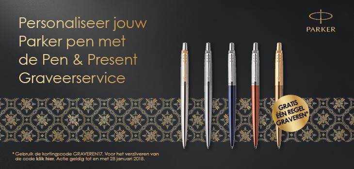 NIEUW: De pen & graveerservice van Romijn Office Supply