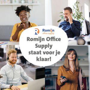 Romijn Office Supply staat voor je klaar